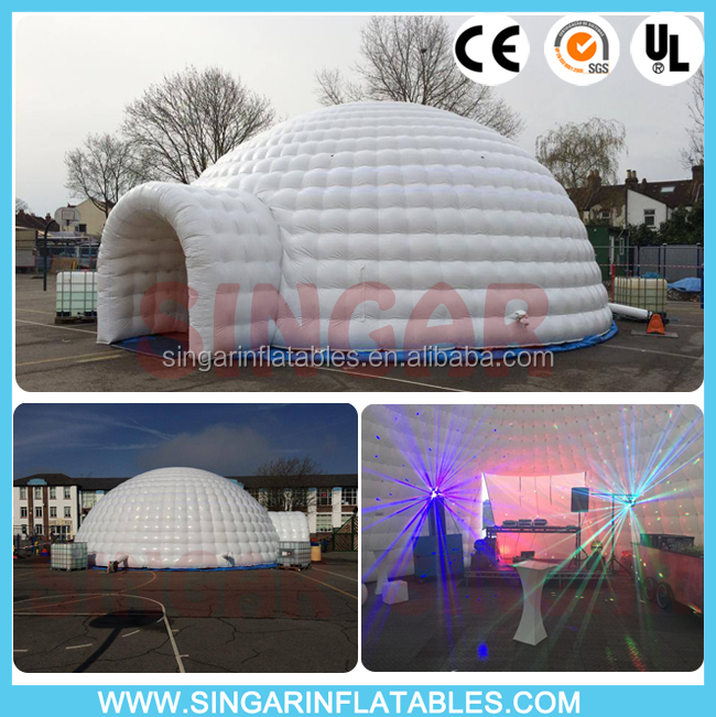 Outdoor dome inflatable concert hall,inflatable music party tent