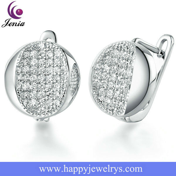 Exquisite Imitation Jewelry Ladies Earrings Designs Pictures (JR140)