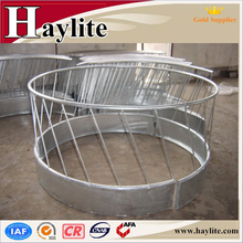 Galvanized outdoor steel round hay feeder for cattle horse sheep