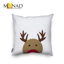 Monad home decor sofa chair cotton cushion cover fabric for christmas