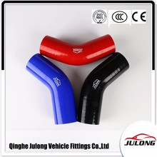 Ageing resistance 45/90/135/180 degree reducer elbows silicone hose