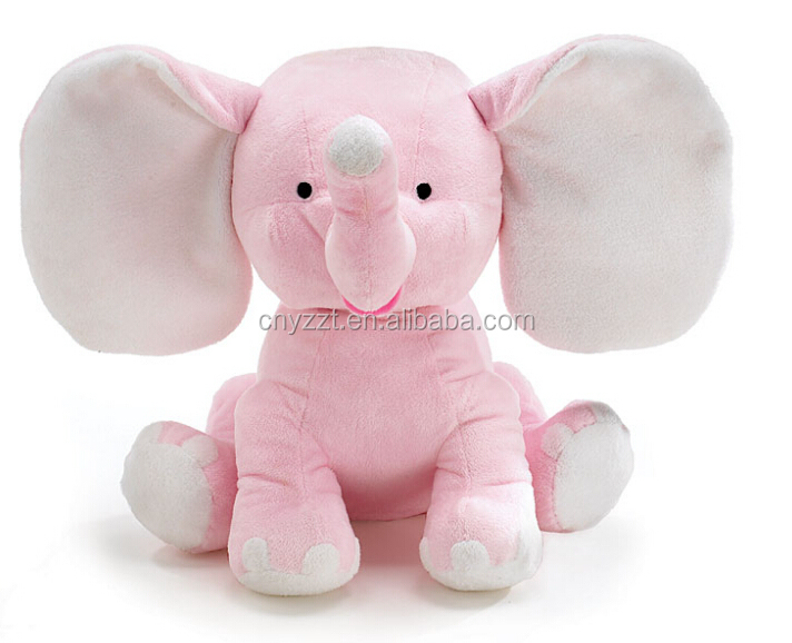 Big Ear Elephant Wholesale Stuffed Soft Toy Pink Big Ear