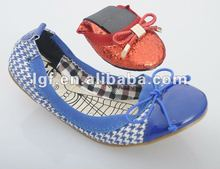 2012 fashion ballerina roll up shoes