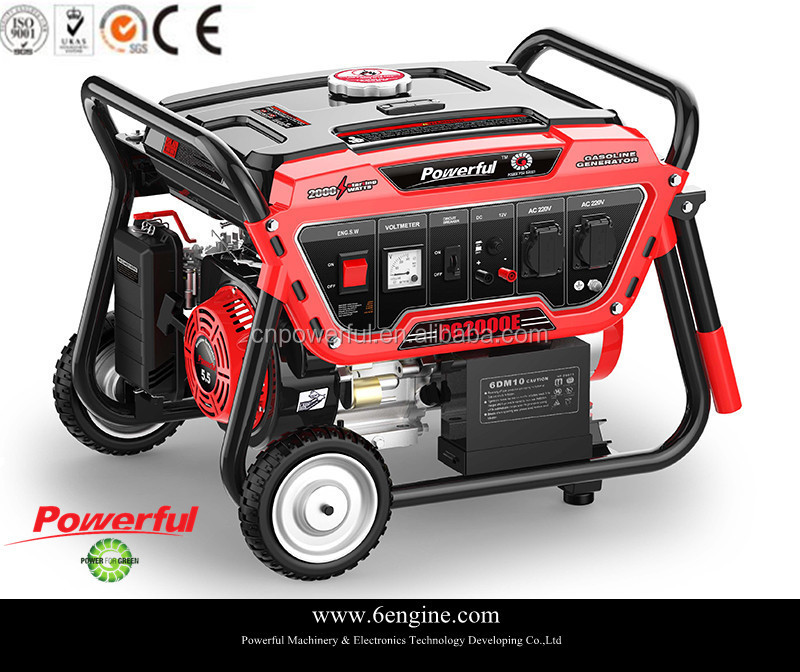 self powered electric Gasoline Generators 2.5kw