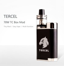 Wholesale price big vapor e-cigarette mechanical mod Kamry Tercel 70w box ecig mod