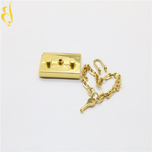 metal gold chain design for girls handbags strap shoulder chain for bag handle