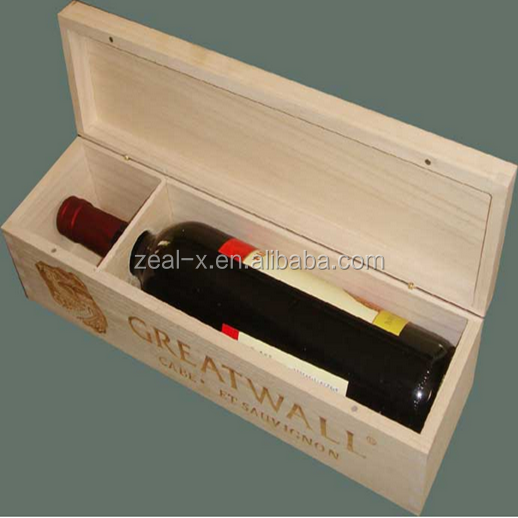Luxury high quality popular fashion antique wooden wine boxes