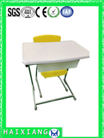 modern school furniture combo school desk and chair HXZY029