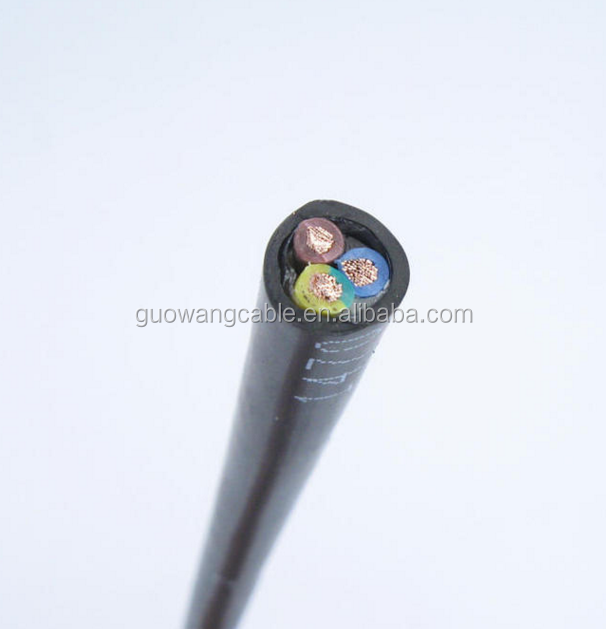 RV flexible electrical wire/2.5mm2~16mm2 stranded copper conductor pvc insulated single core wire
