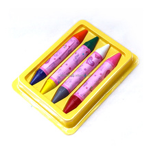 nontoxic double headed crayons for children in colorful box twisted crayons