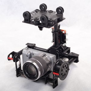 2 Axis Brushless Gimbal For DSLR camera mount New product