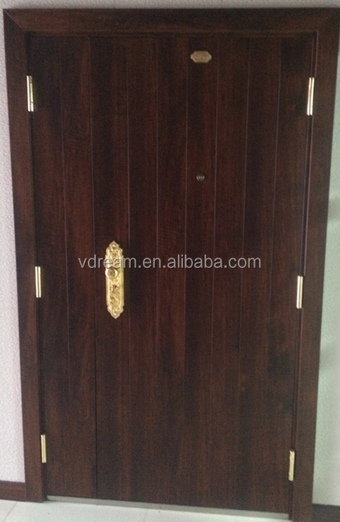 Cheap steel door, sound proof security door, metal door frame