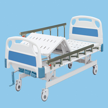 Three functions Manual Hospital bed Export to USA