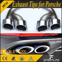 Stainless Steel Auto Car Exhaust System for Porsch e Cayenn e 2015