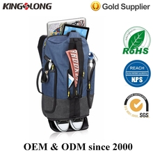 Outdoor Product Linen Sport Backpack School Bag With Shoe Compartment