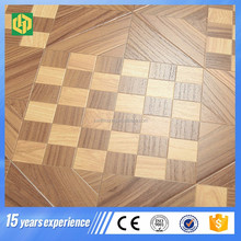 Low price parquet flooring 12mm HDF/ MDF laminate from china manufacture