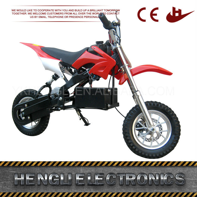 250W 24V 2 Wheel Brushless Adult Electric Motorcycle For Sale