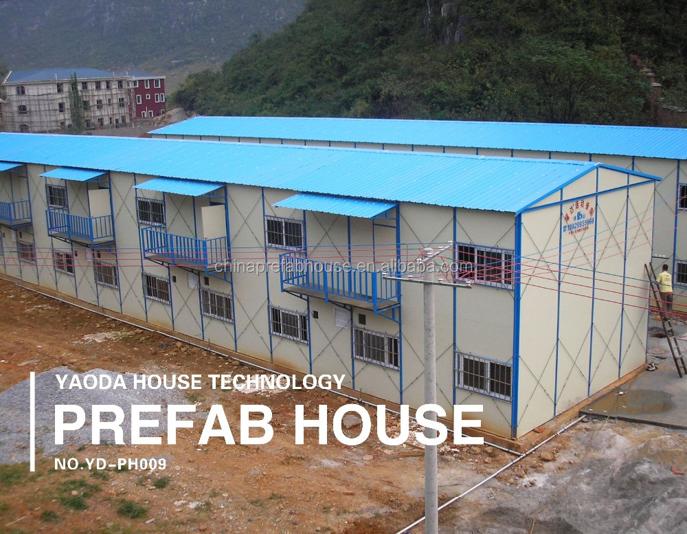 Yaoda prefabricated sandwich panel house for france