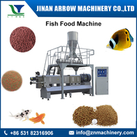 CE Certificate Automatic Fish Meal Food Pellet Extruder Machine