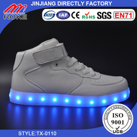 fashion shoes hot sell led shoes flashing led light up with USB charger with good quality casual shoes