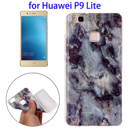 Urgent Buying Request Marbling Pattern TPU Back Cover Case for Huawei P9 Lite