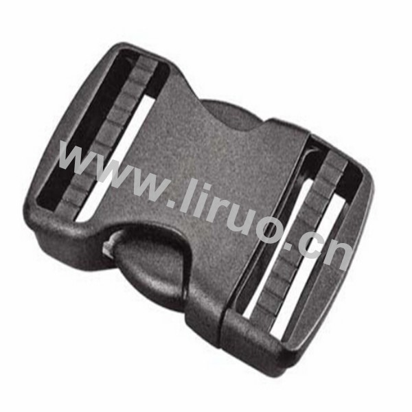 Black Plastic Snap Buckle