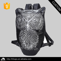3D Owl Shaped School Backpack Satchel Bag Rucksack Knapsack