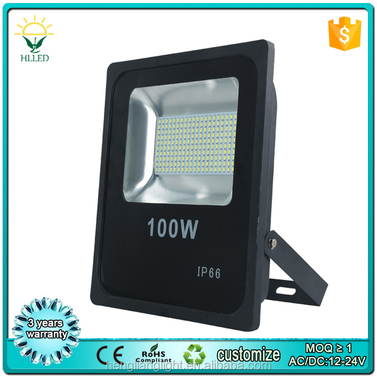 2835 SMD DMX RGB color ip65 100w reflector led flood lights with remote controller