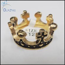 Custom Made Crown mens ring