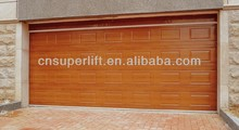 Sectional Overhead Manual Lift Garage Door