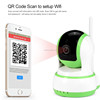 Motion Detect Home Security Real-time Monitoring Portable All in One HD Wifi IP Camera