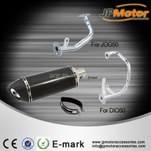 Akrapovic Slip-On motorcycle Exhausts pipe carbon fiber 51mm connector exhaust muffler for JOG50 DIO50