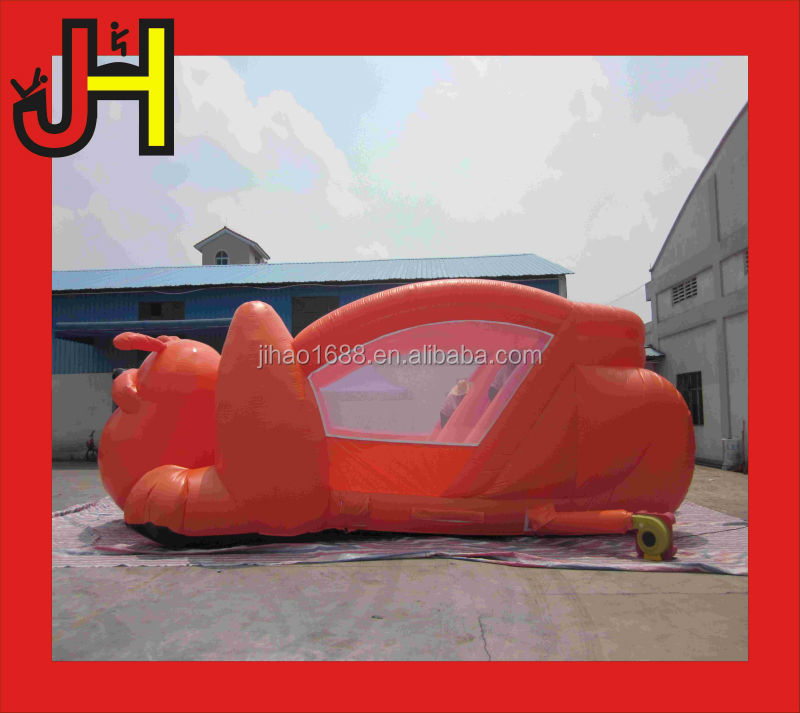 Large dog inflatable slides,combo bouncer outdoor for fun