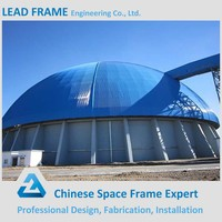 Long Span Free Design Prefabricated Steel Space Frame Roof Structure