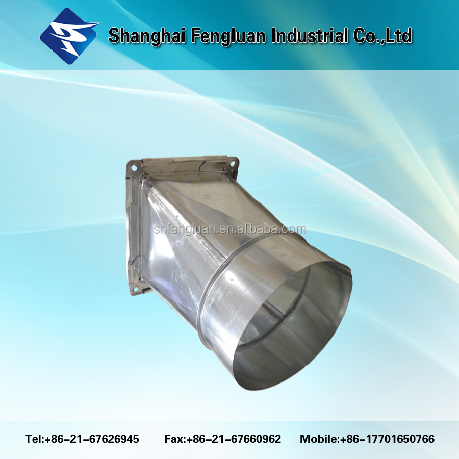 Round or Rectangular Pipe Ventilation air duct