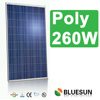 10 to 15 years gurrantee TUV certificate pv solar panel 260w poly