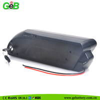 dolphin II case 36V8Ah electric bike battery pack for 350w/500w motor