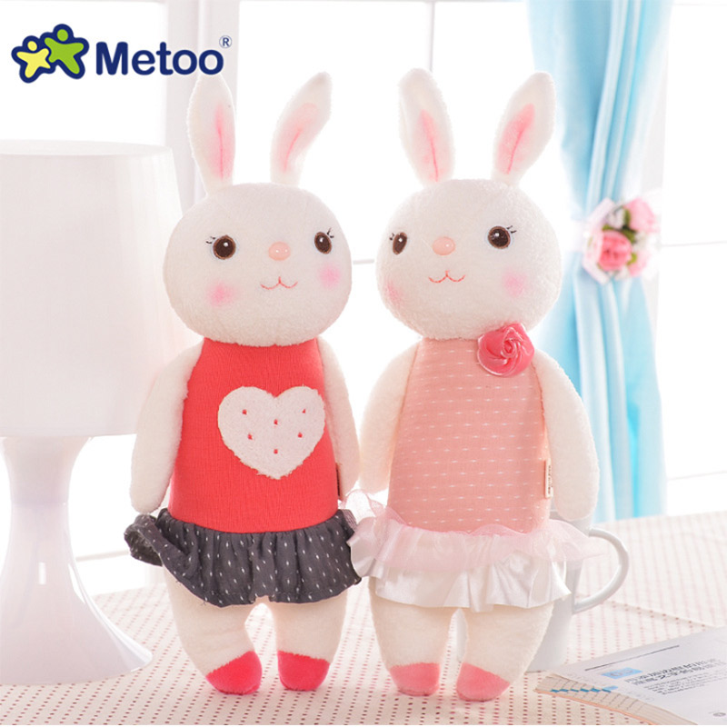 Mini Metoo Doll Plush Sweet Cute Lovely Stuffed Baby Kids Toys for Girls Birthday Christmas Gift 11 Inch Tiramitu Rabbits