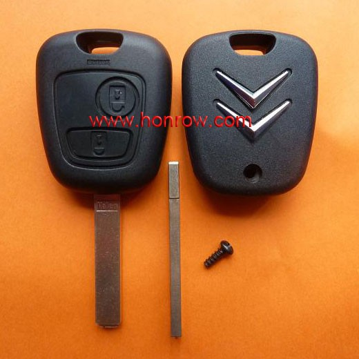 High Qaulity Citroen 307 remote key with 433Mhz ID46 Chip citroen c4 remote control key