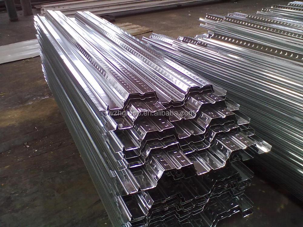 Metal Decking Sheet Gi Steel Deck Metal Stud For Gi