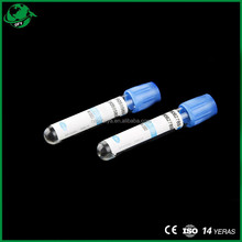 Blue Vacuum Blood Collecton Tube
