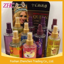 High quality deodorant body spray perfume wholesalers in uae dubai, Refreshing fragrance body mist 300ml For Women