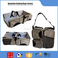 3 in1 Foldable Baby diaper bag