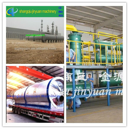 Continuous waste oil refinery with CE,ISO,SGS