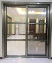 Interior soundproof aluminum sliding partition kitchen door