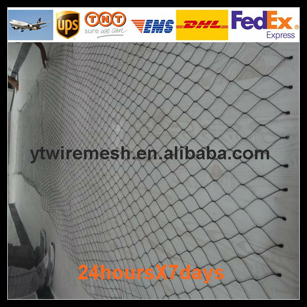 hot sale anping yuntong hand made soft woven wire rope mesh