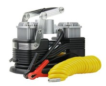 Tire repair kit double cylinder car air compresor/air inflator