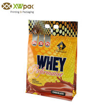 Heat Sealed Side Gusset Plastic Packaging Bags For Chocolate