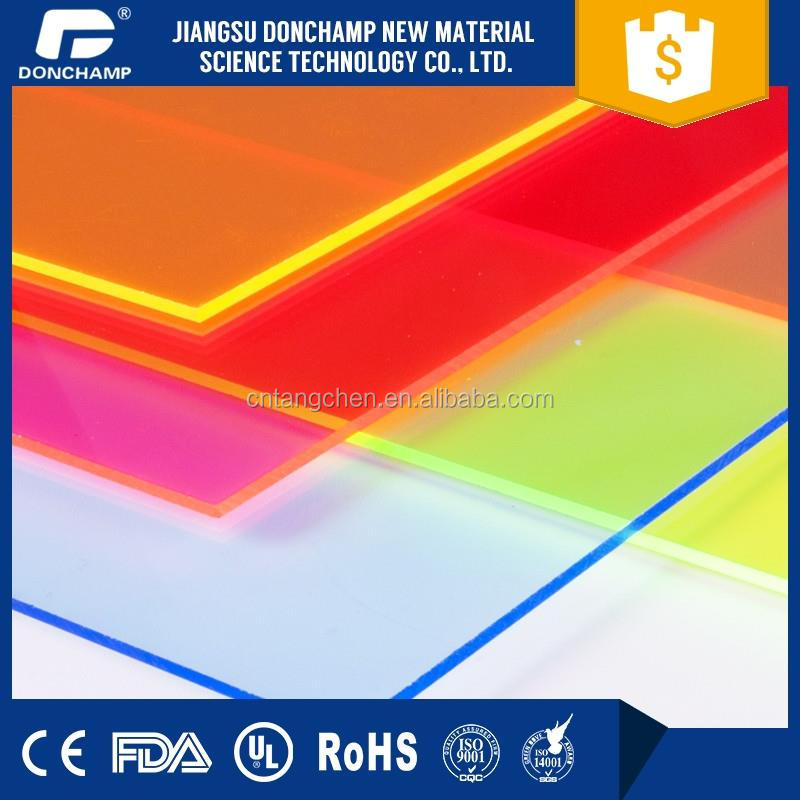 Anti-scratch plastic perspex sheets coloured plastic sheets acrylic clear sheet