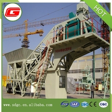 Easy operation high performance /hot sale yhzs75 mini mobile concrete batching plant /concrete mixer